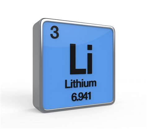 Lithium On Periodic Table by Lithium European Lithium