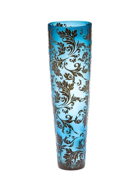 50cm Glass Vase by Glass Vase Glass Vase Flower Antique Style
