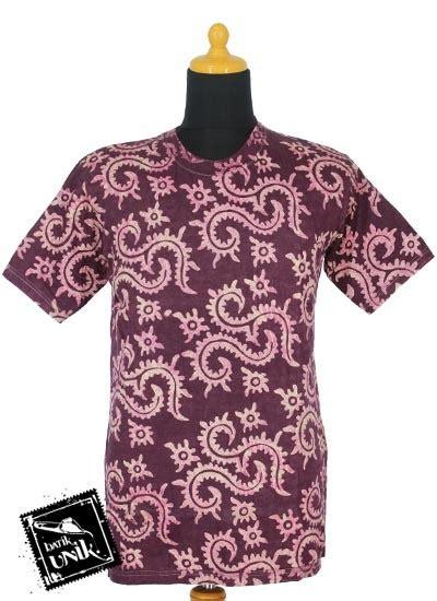 Kaos Motif 1 kaos batik exclusive motif batik cap daun pakis kaos