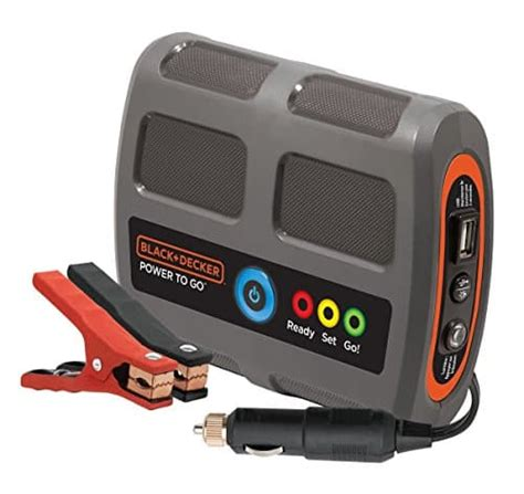 blackdecker pgb power   lithium battery booster jumpstarterio