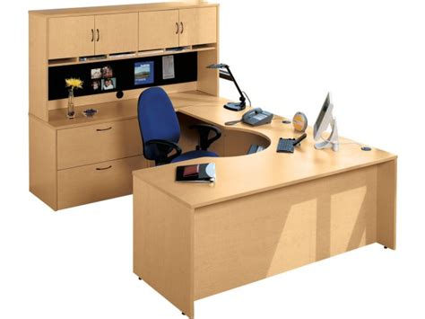 U Shaped Office Desk Hyperwork Curved Corner U Shaped Office Desk Hpw 1100 Office Desks