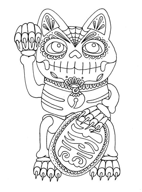 dia de los muertos couple coloring pages free coloring pages of dia de los muertos