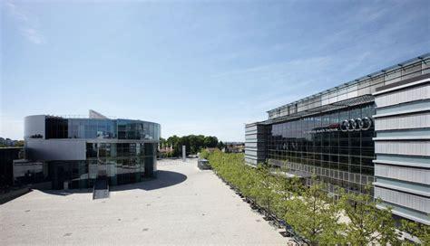 Audi Zentrale Deutschland by Audi Forum Ingolstadt Audi Mediacenter