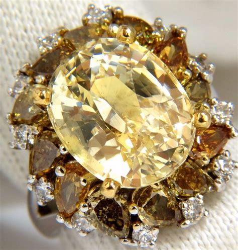 nesa shopp mukena naura 12 68ct no heat yellow fancy color diamonds