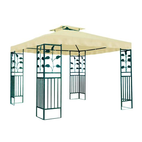 Pavillon Wasserdicht 3x4 Meters by Gartenpavillon Metallpavillon 3x3 Meter Gartenzelt Pavillon