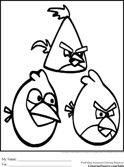 angry birds gale coloring pages free coloring pages of angry birds stella