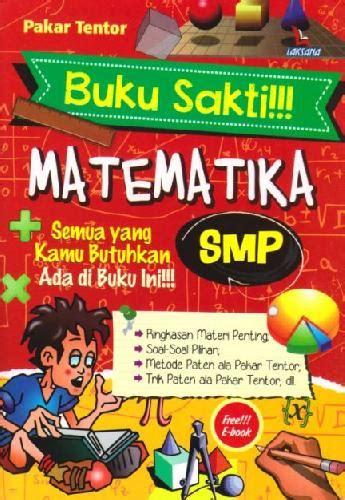 Buku Sakti Fisika Smp Soft Cover Oleh Pakar Tentor bukukita buku sakti matematika smp toko buku
