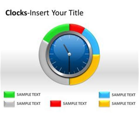 powerpoint themes clock free analog clock powerpoint templates