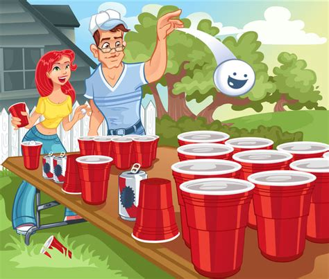 backyard beer pong backyard beer pong by tarred and feathered on deviantart