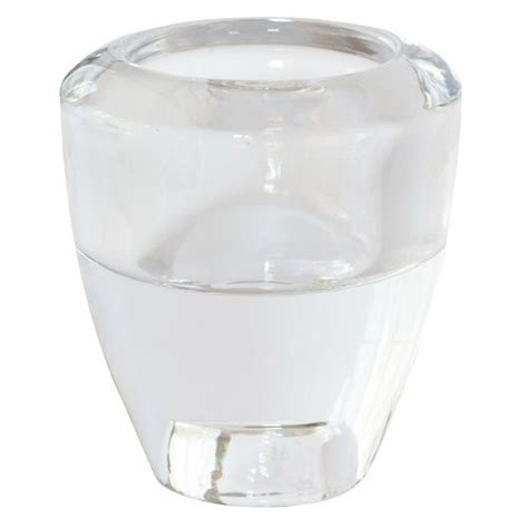 kerzenhalter glas stabkerzen duni glas kerzenhalter 2 in 1 f 252 r spitzkerzen