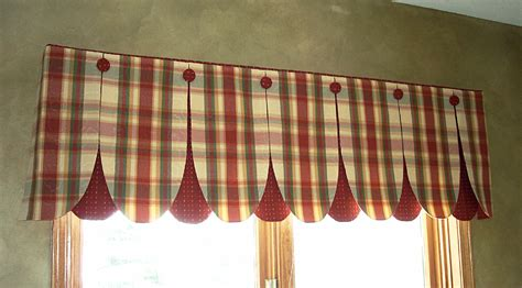 Kitchen Curtain Patterns Window Treatments On Valances Shades And Window Valances