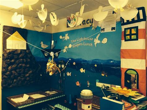 light house displays the lighthouse keepers lunch classroom display