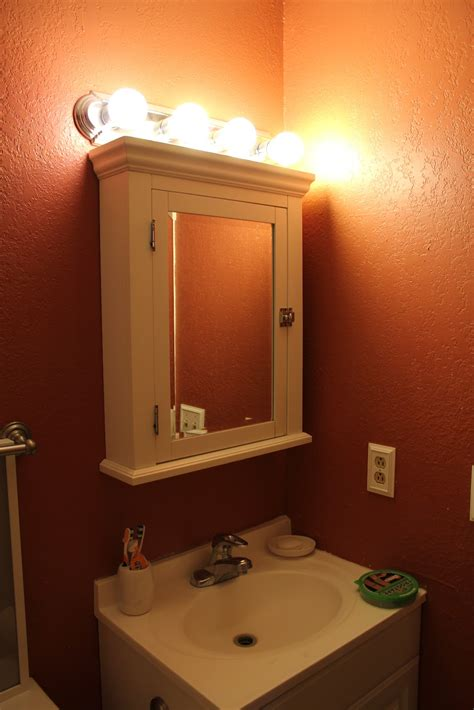 the cabinet light modern bathroom with medicine cabinets with lights cool