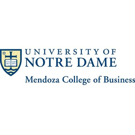 Notre Dame Mba Curriculum by Mendoza College Of Business