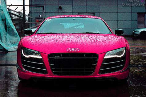 pink audi r8 audi car cars cool dream image 346886 on favim com