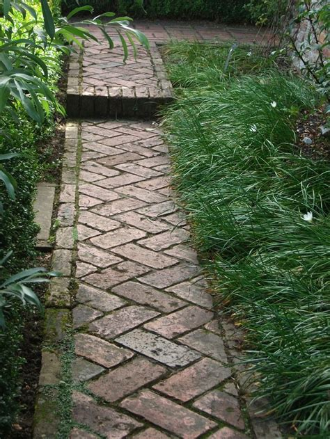 garden walkways perfect brick walkway garden pinterest
