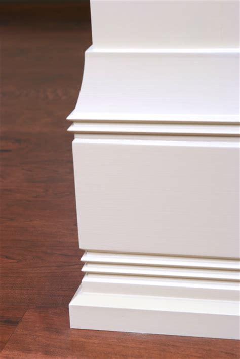 craftsman baseboard custom baseboard and shoe molding detail craftsman