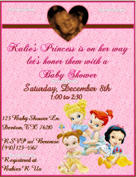 Disney Princess Baby Shower by Unavailable Listing On Etsy