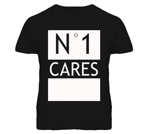 T Shirt One Graphic 1 no 1 one cares popular graphic t shirt