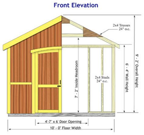 cambridge 10x20 wood backyard storage shed kit