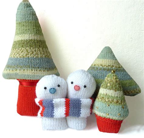 knitting kits everlasting snowmen knitting kit by gift knitting