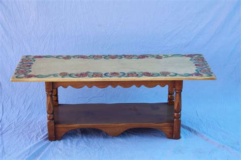 Monterey Coffee Table 1930s Signed Monterey Coffee Table At 1stdibs