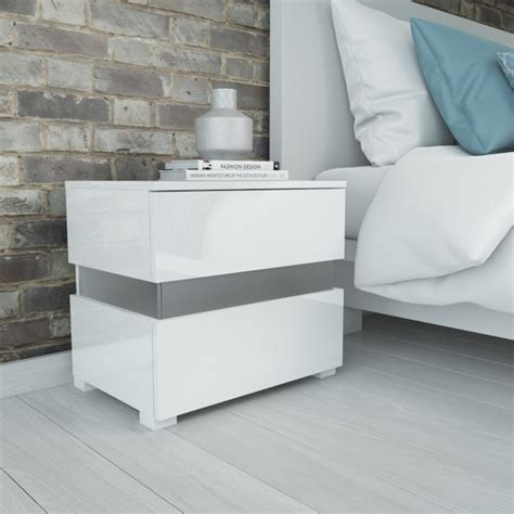 high gloss white bedside cabinets everdayentropy ivory gloss bedside cabinets everdayentropy