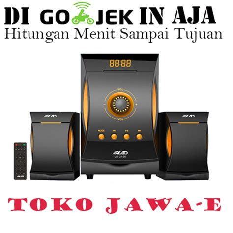 Speaker Active Lad 2158 Bluetooth Suara Mantapp Diskon jual stock terbatas speaker active lad2156 bluetooth suara