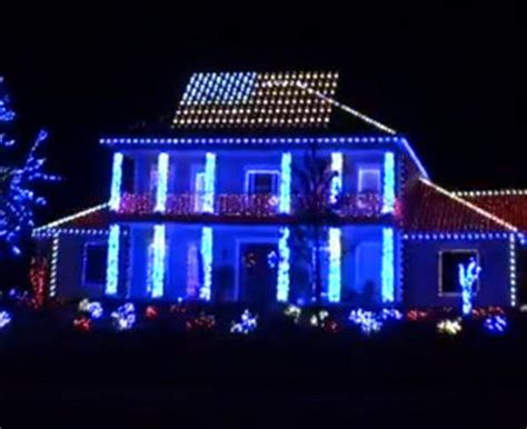 viral video patriotic christmas light display salutes