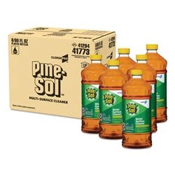 pine sol multi surface cleaner disinfectant pine oz bottle ctn