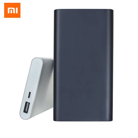 Powerbank Xiaomi 1000mah original xiaomi power bank 2 10000mah 18650 battery powerbank portable external battery micro