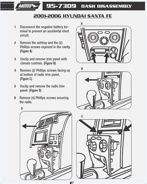 hyundai santa fe stereo wiring diagram wiring diagram