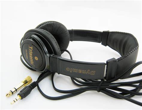 Headset Clation Mdr520 Digital Stereo professional digital stereo headphones studio leather ebay