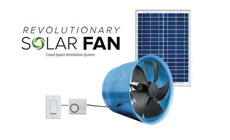 crawl space ventilation fans solar powered crawl space fan archives yellowblue