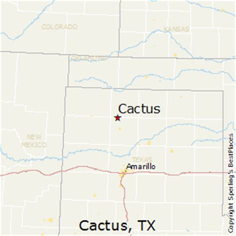 cactus texas map best places to live in cactus texas