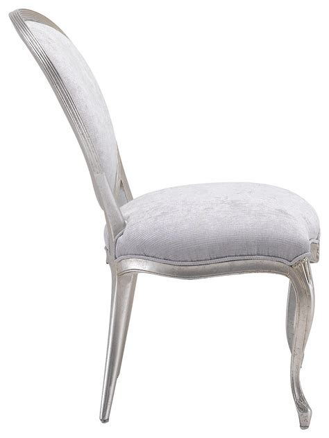 Handmade Dining Chair - italian classic handmade dining chair silver elegance chic