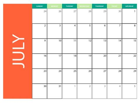 illustrator monthly calendar template 2018 july 2017 blank monthly calendar free vector to