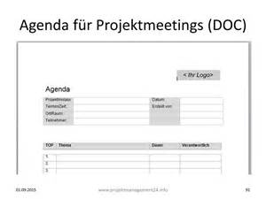 agenda f 252 r projektmeetings mit vorlage zum download in