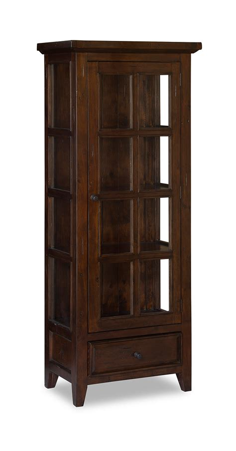 curio cabinets small collectibles hillsdale tuscan retreat small display cabinet in park