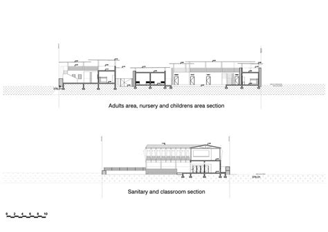 what is a transverse section falatow jigiyaso orphanage in bamako mali by f8 architecture