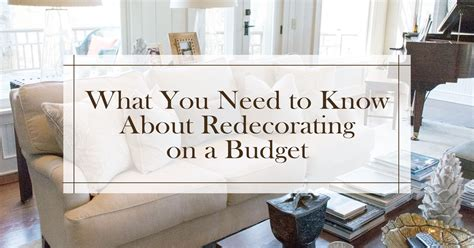 what you need to know about redecorating on a budget cushion source blog