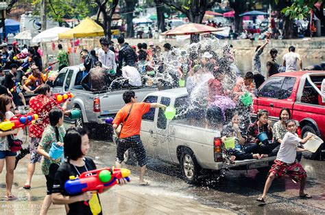thai new year water festival songkran water festival chiang mai thailand andrew