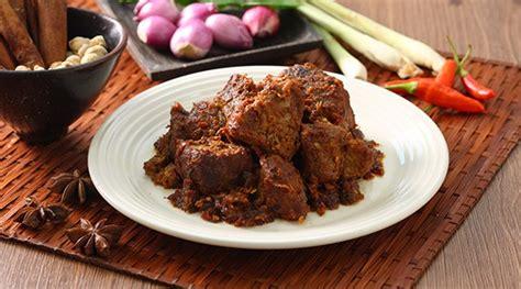 fakta makanan rendang  daerah sumatera barat