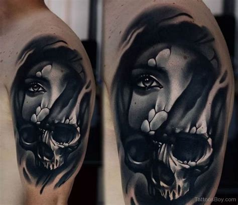 female skull tattoos skull tattoos designs pictures page 23
