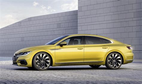new volkswagen arteon volkswagen arteon revealed as sporty new passat cc
