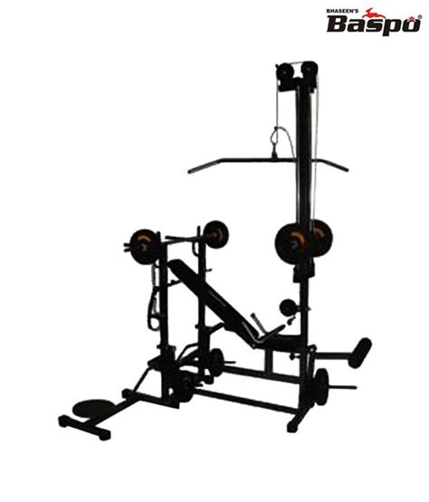 buy gym bench baspo personal gym bench 20 in 1 buy online at best price