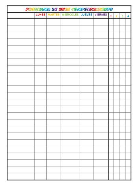 formato lista asistencia preescolar lista de asistencia para preescolar imagui