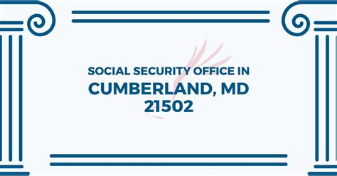 social security office in cumberland maryland 21502 get