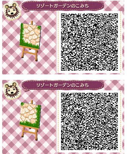 stone pattern new leaf animal crossing new leaf qr code paths pattern credit
