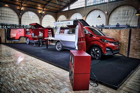 peugeot car store food truck concept car peugeot store ideas
